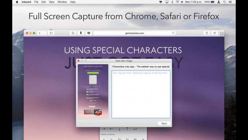 Inboard for Mac - review, screenshots