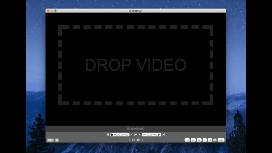 LosslessCut for Mac - review, screenshots