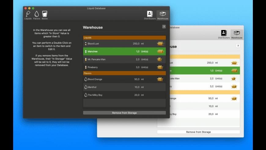 Liquid Database for Mac - review, screenshots