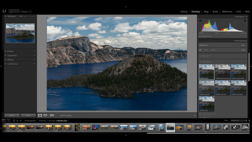 Adobe Lightroom Classic for Mac - review, screenshots