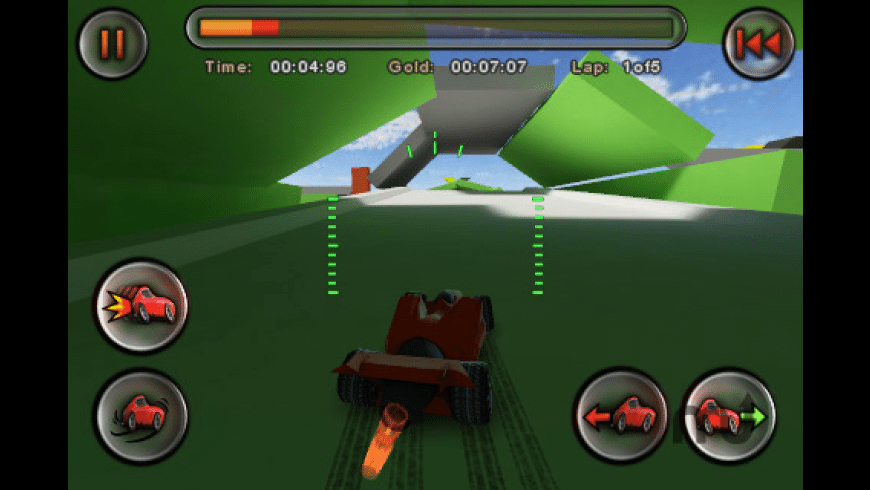 Jet Car Stunts Lite for Mac - review, screenshots