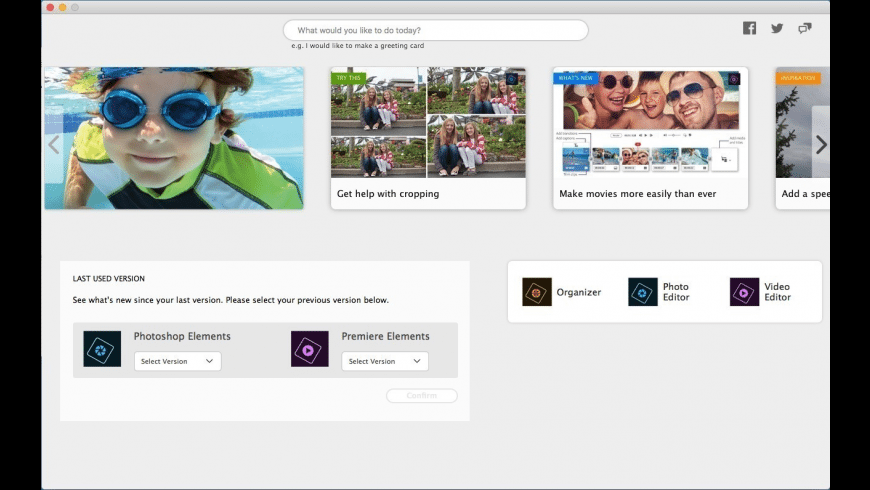 Adobe Photoshop Elements for Mac - review, screenshots