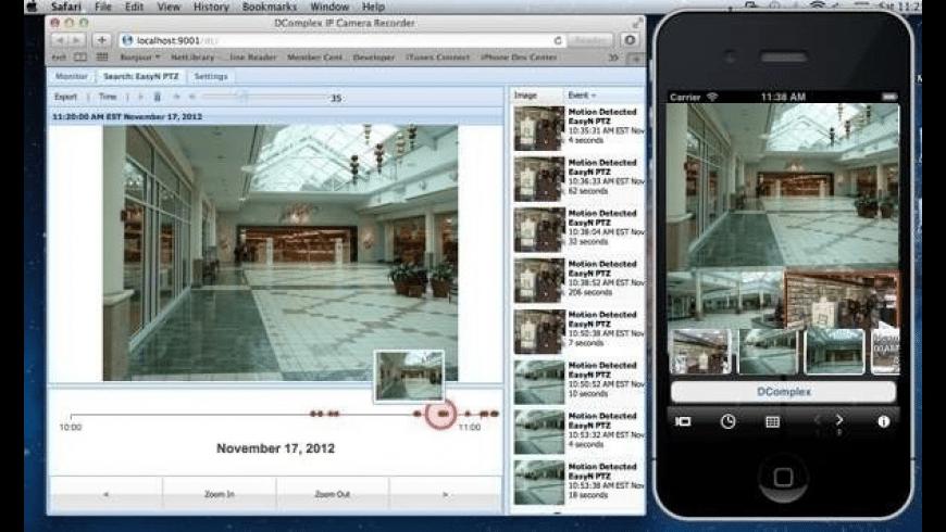 IP Camera Recorder for Mac - review, screenshots