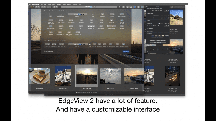 EdgeView for Mac - review, screenshots