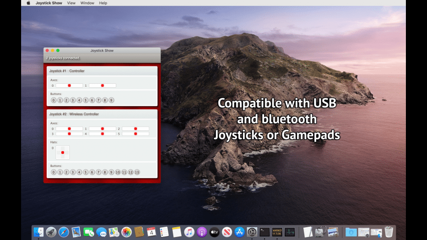 Joystick Show for Mac - review, screenshots