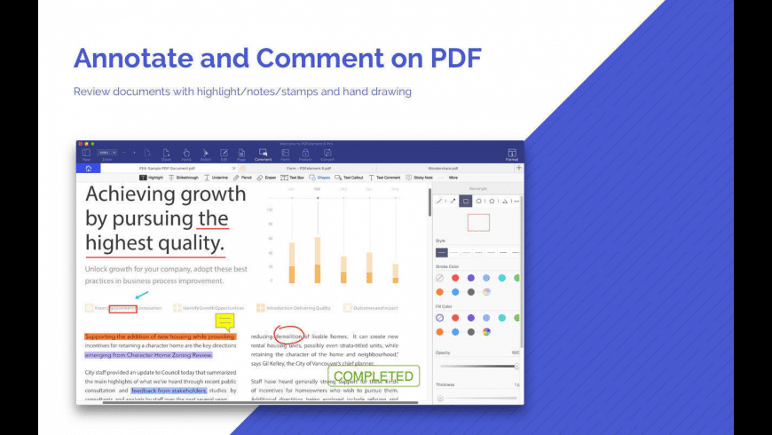 PDFelement for Mac - review, screenshots