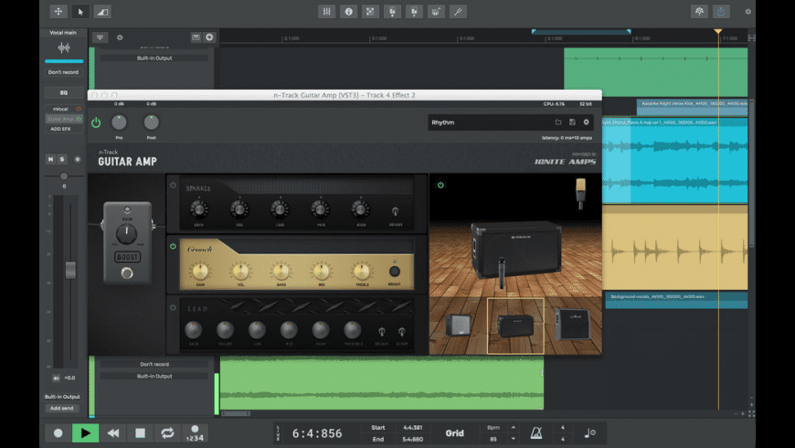 n-Track Studio Extended for Mac - review, screenshots