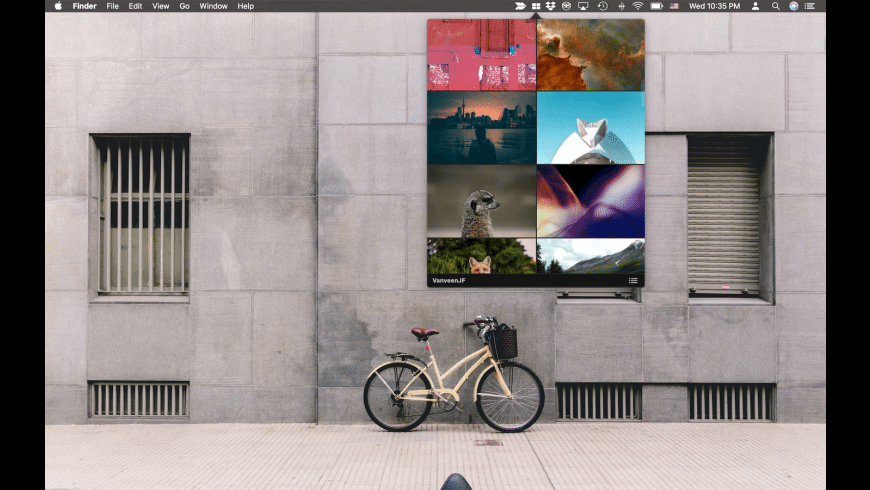 Wallpaper Menu for Mac - review, screenshots