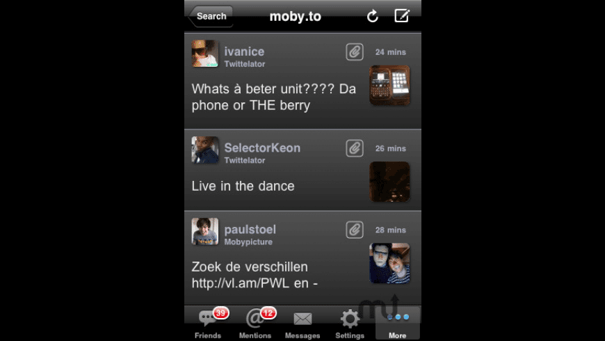 Twittelator Free for Twitter for Mac - review, screenshots