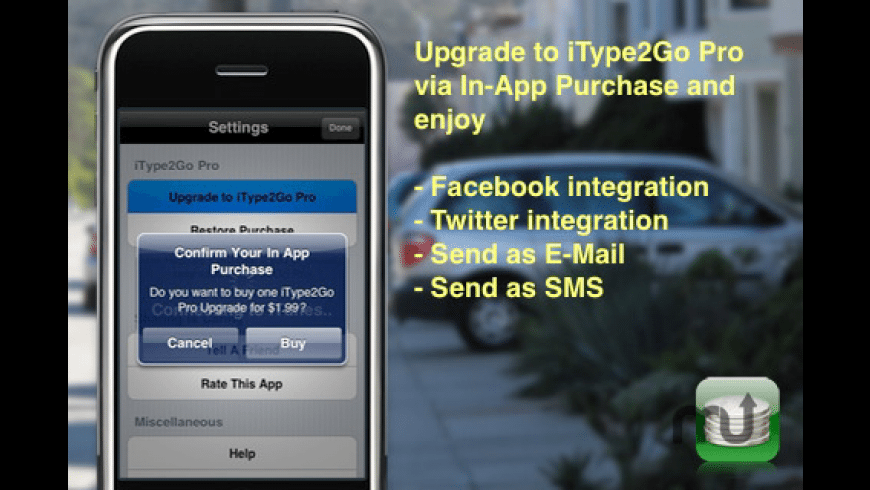 iType2Go Free for Mac - review, screenshots
