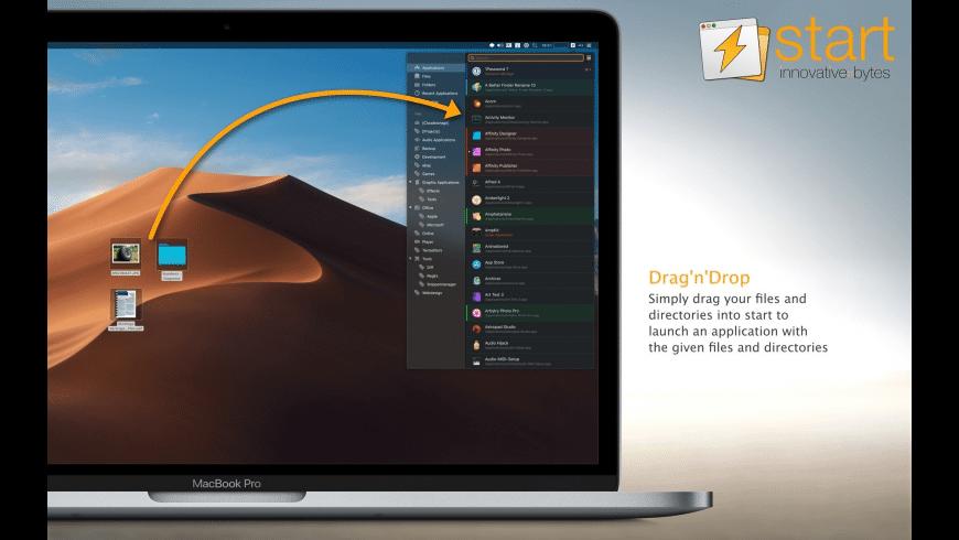 start for Mac - review, screenshots