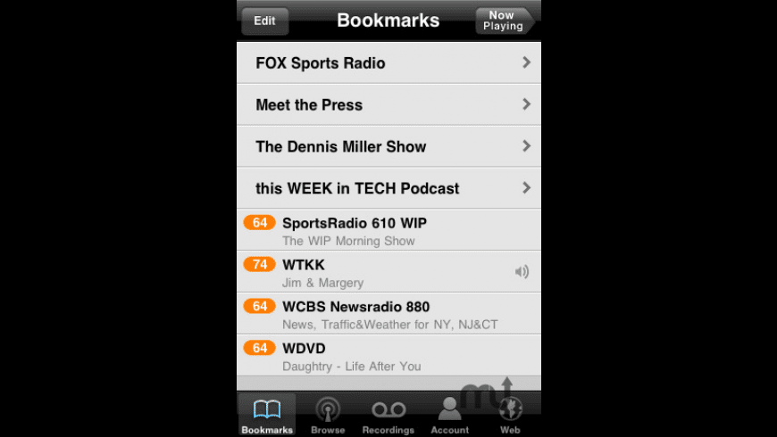 TuneIn Radio for Mac - review, screenshots