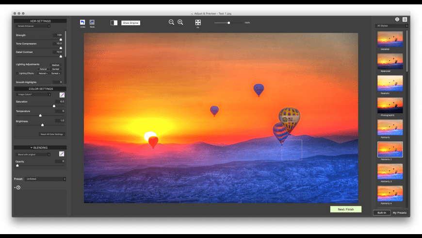 Photomatix Pro for Mac - review, screenshots