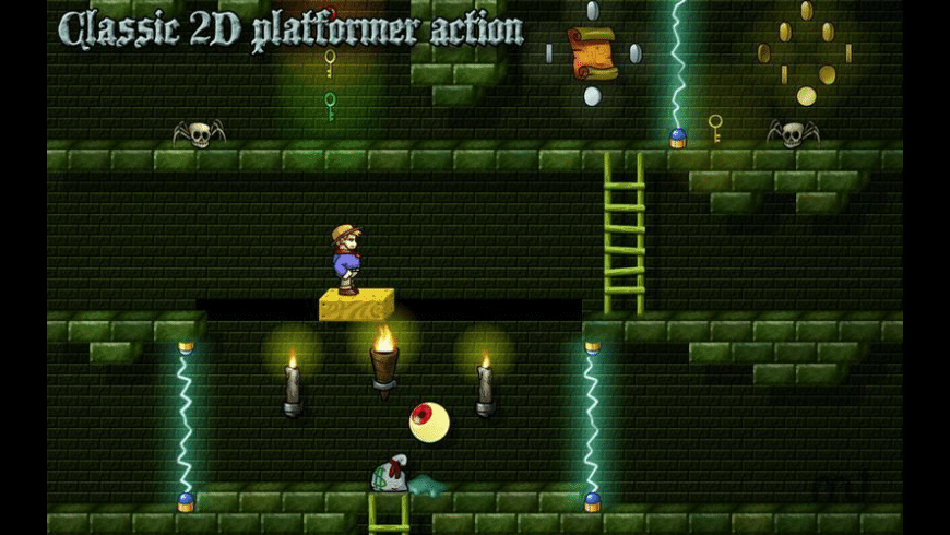 Midnight Mansion HD for Mac - review, screenshots