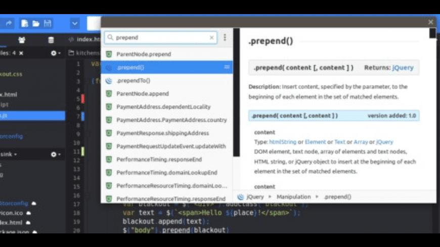 Komodo IDE for Mac - review, screenshots