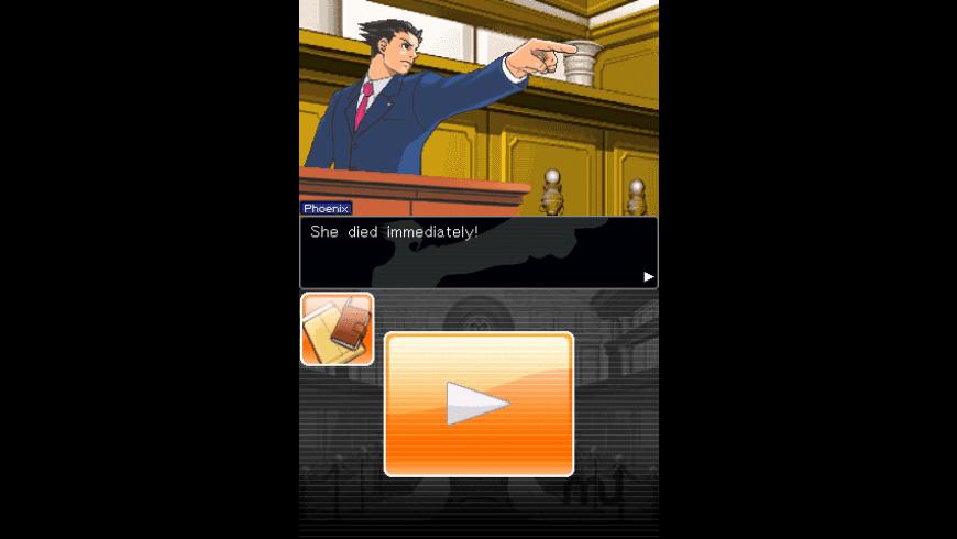 Phoenix Wright for Mac - review, screenshots