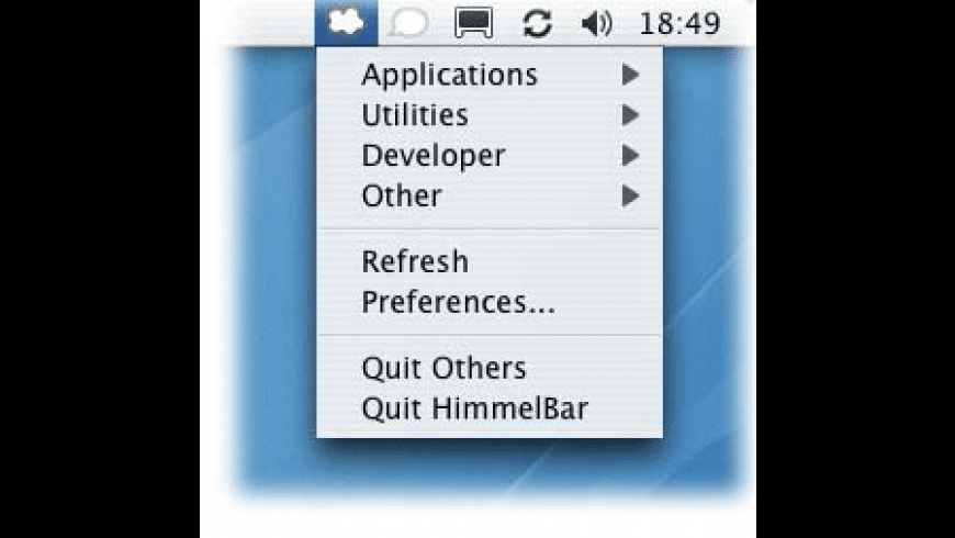 HimmelBar for Mac - review, screenshots