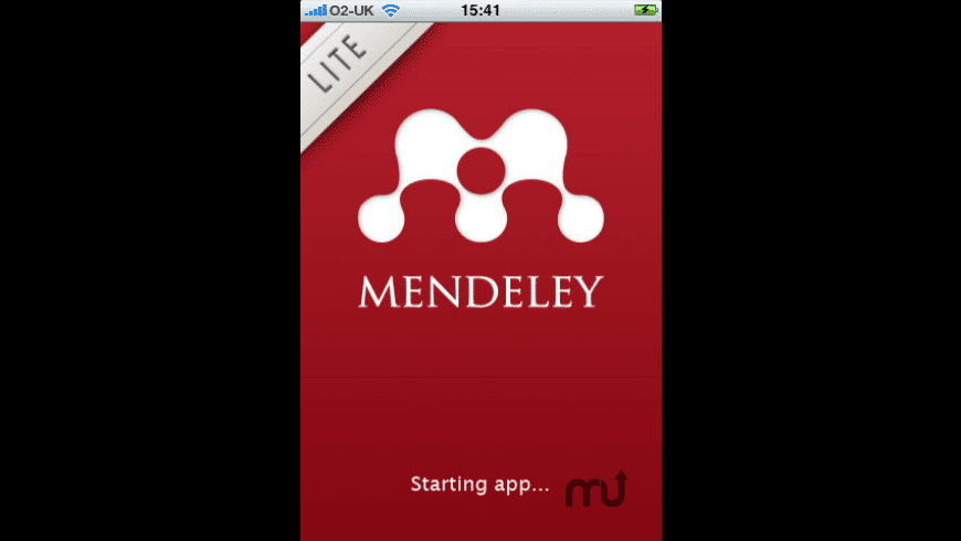 Mendeley - Reference Manager (Lite) for Mac - review, screenshots