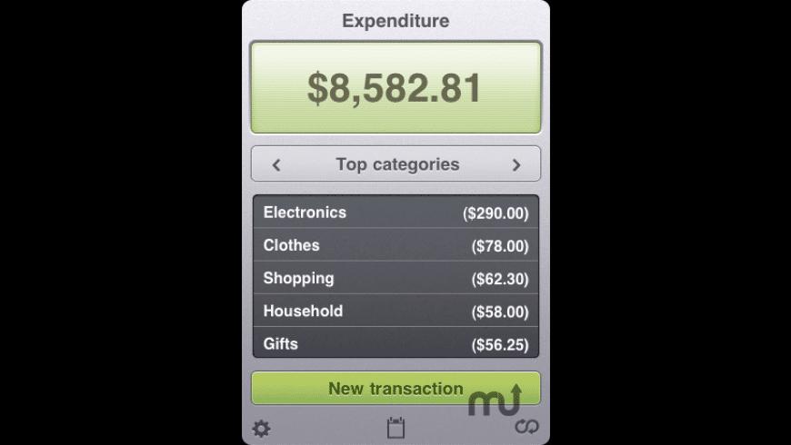 Expenditure Lite for Mac - review, screenshots