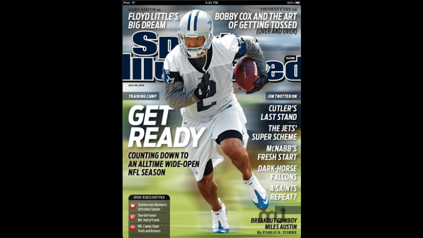 Sports Illustrated Magazine for Mac - review, screenshots