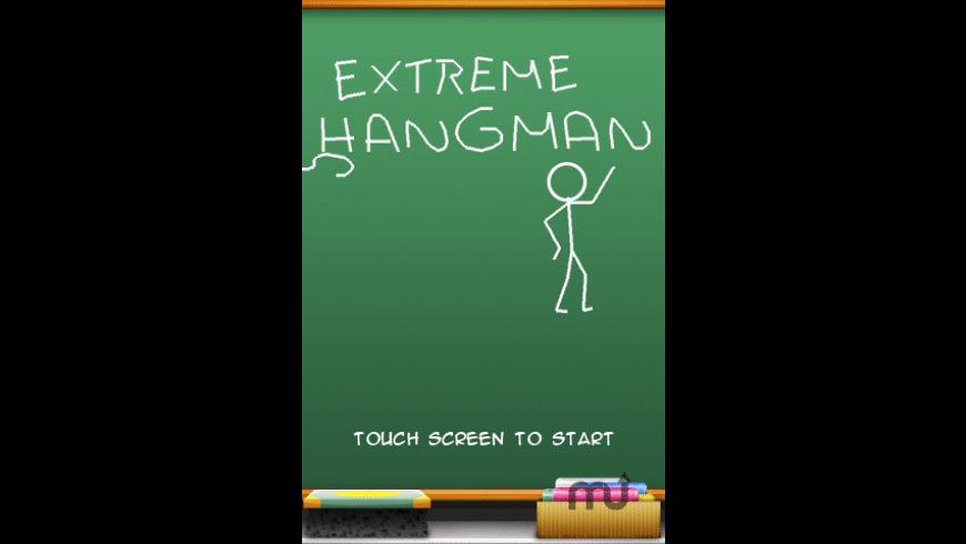 Extreme Hangman for Mac - review, screenshots