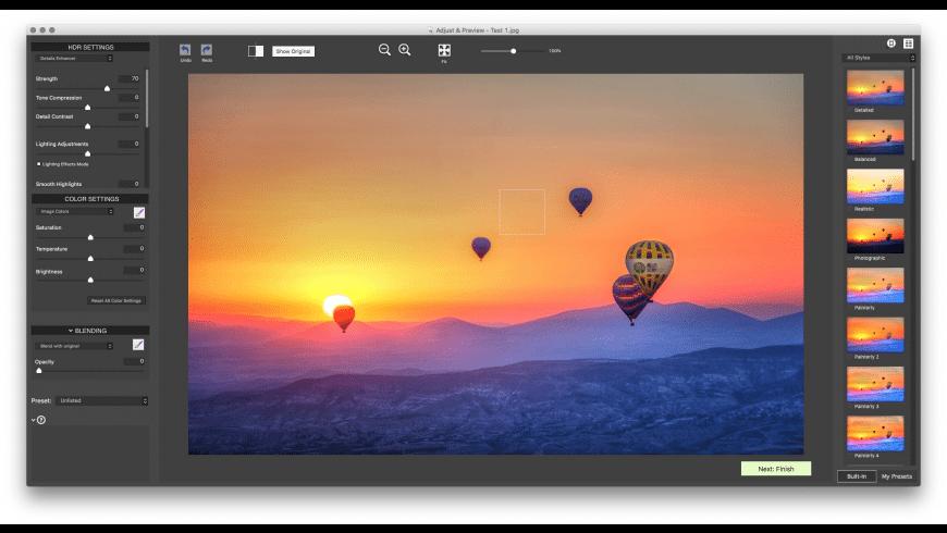 Photomatix Pro for Mac - review, screenshots