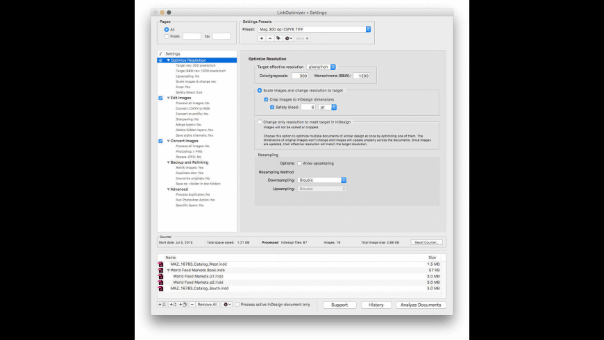 LinkOptimizer Light for Mac - review, screenshots