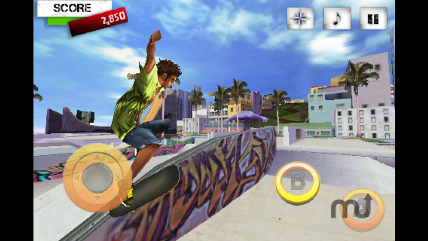 Skater Nation FREE for Mac - review, screenshots