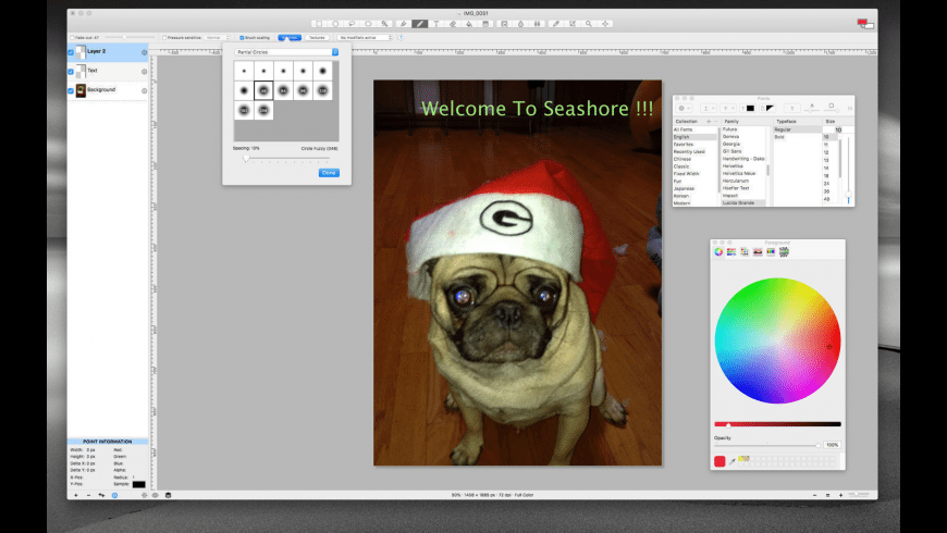 Seashore for Mac - review, screenshots