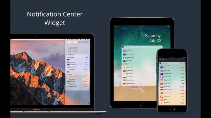 Currencier for Mac - review, screenshots