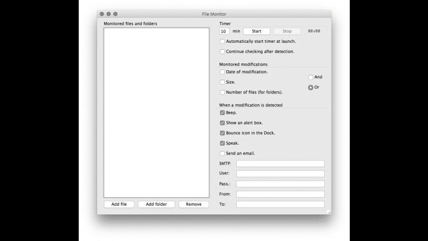 File Monitor for Mac - review, screenshots