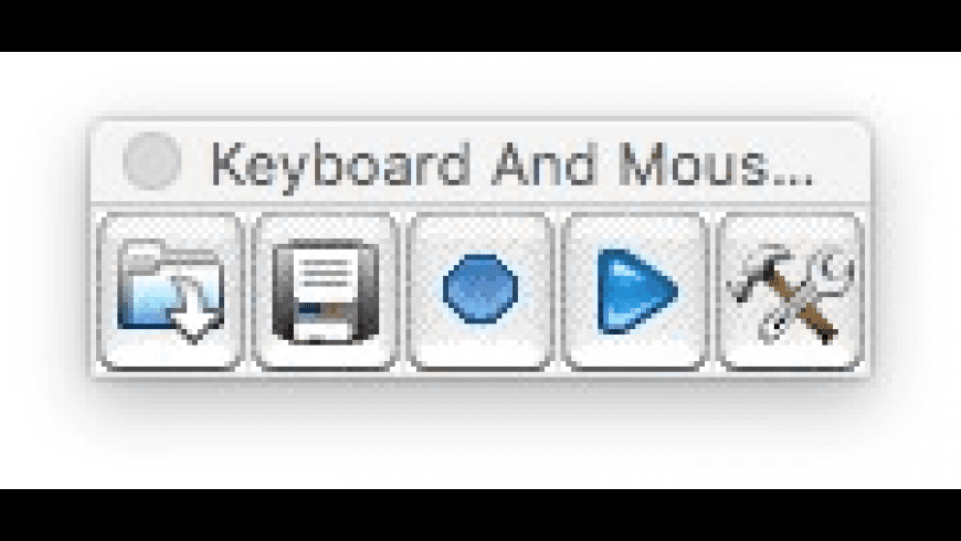 Keyboard and Mouse Recorder for Mac - review, screenshots