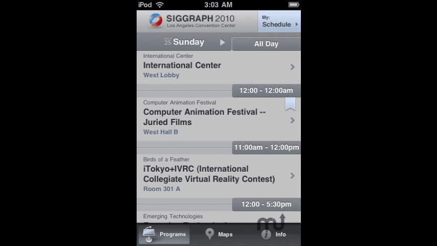 SIGGRAPH for Mac - review, screenshots