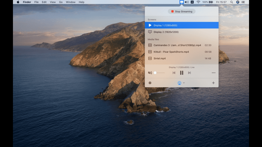 JustStream for Mac - review, screenshots