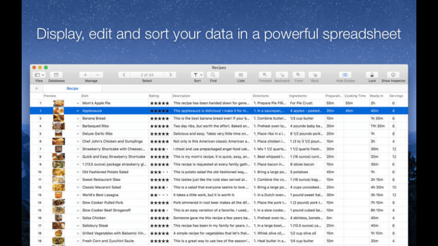 Records for Mac - review, screenshots