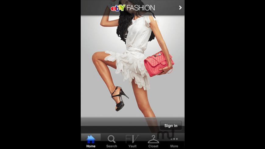 eBay Fashion for Mac - review, screenshots