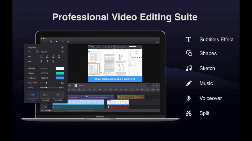 Filmage Screen Pro for Mac - review, screenshots