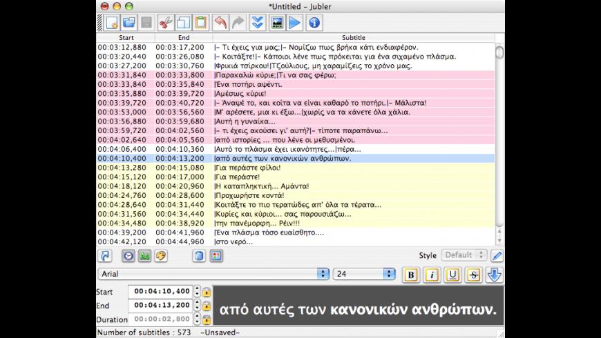 Jubler for Mac - Free Download Version 7 0 0-alpha1 | MacUpdate