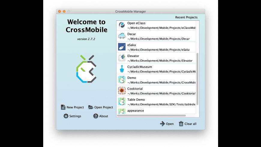 CrossMobile for Mac - review, screenshots