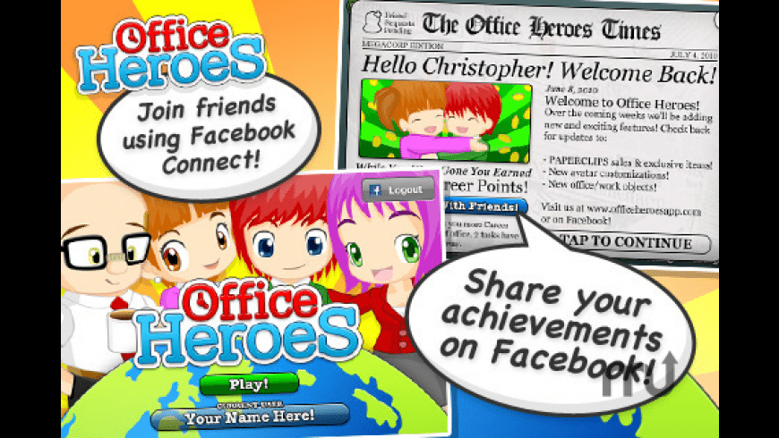 Office Heroes for Mac - review, screenshots