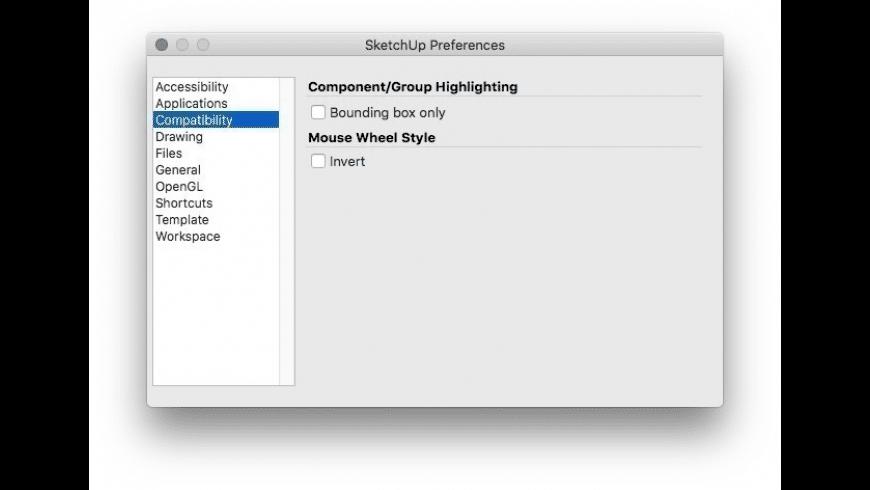 SketchUp for Mac - review, screenshots