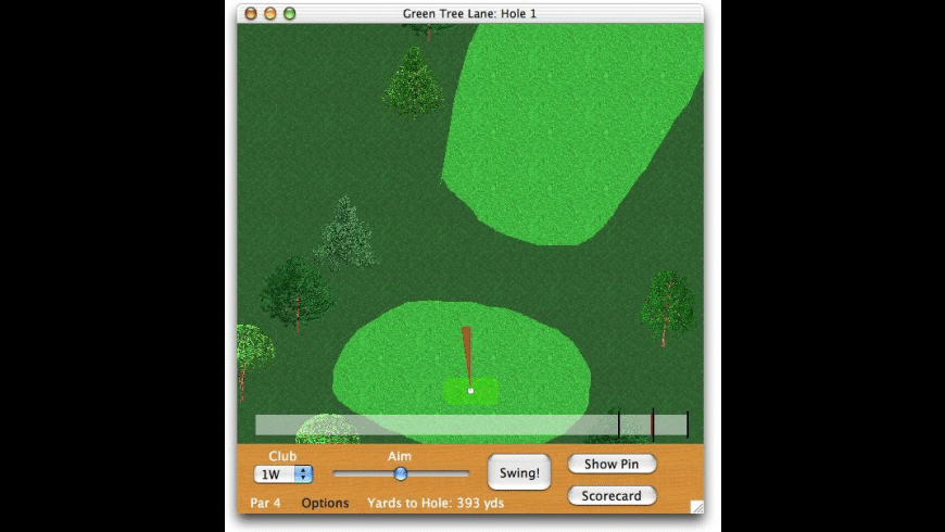 KGA Golf X for Mac - review, screenshots