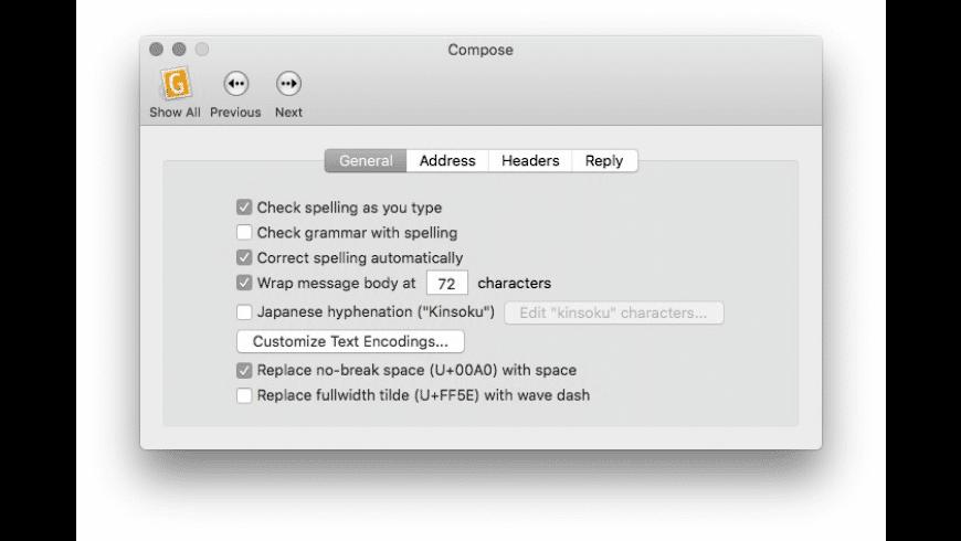 GyazMail for Mac - review, screenshots