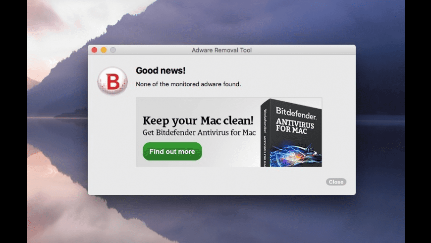 Bitdefender Adware Removal for Mac - review, screenshots