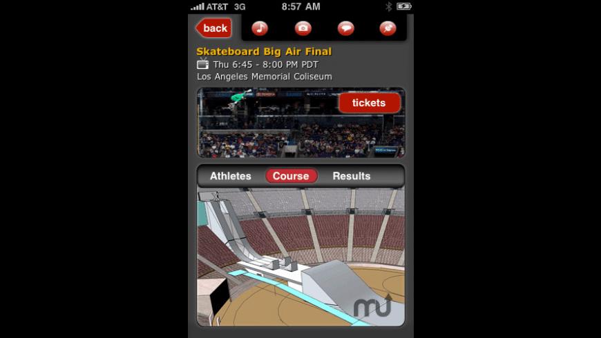 X Games 16 Mobile App for Mac - review, screenshots