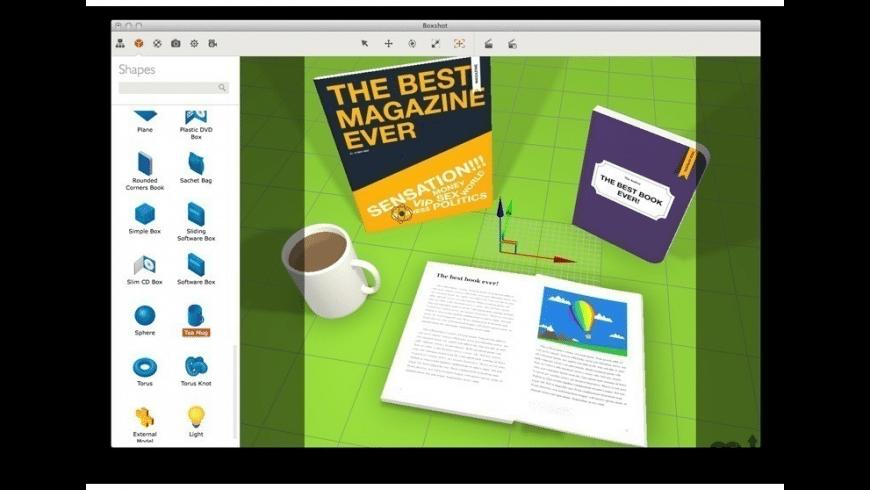 Boxshot Professional for Mac - review, screenshots