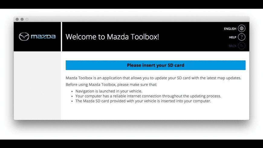 Mazda Toolbox for Mac - review, screenshots