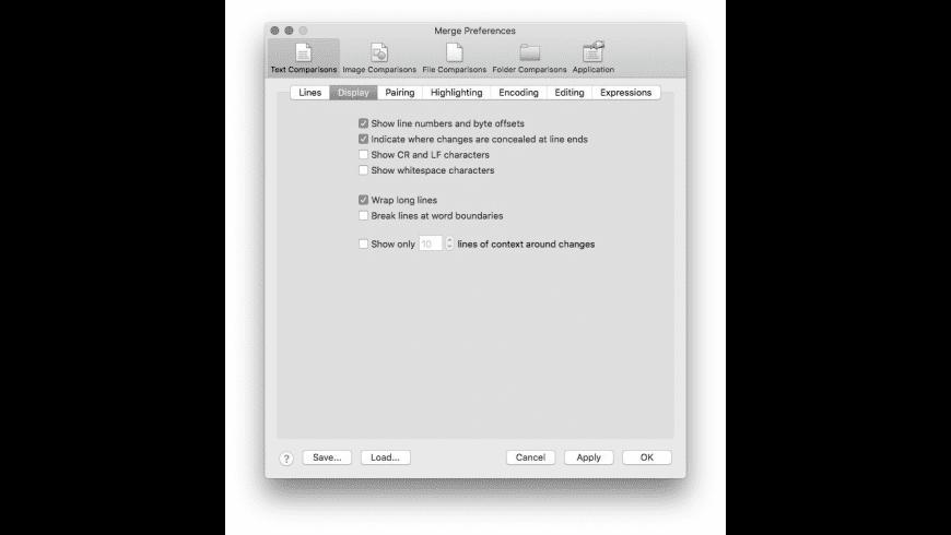 Araxis Merge for Mac - review, screenshots
