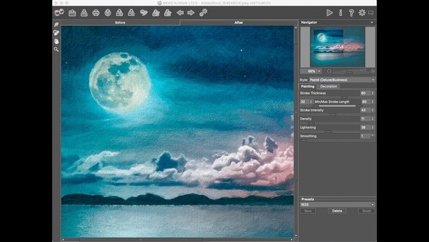 AKVIS ArtWork for Mac - review, screenshots