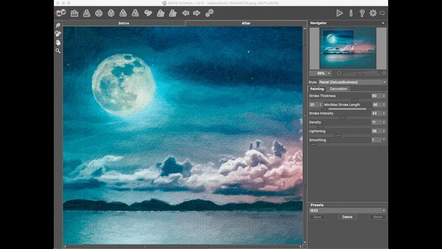 AKVIS ArtWork for Mac - review, screenshots